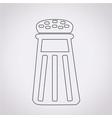 pepper shaker icon vector image