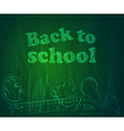 Back to school3 vector image