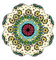 Beautiful Colored Mandala vector image