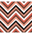Chevron Salmon Seamless Pattern vector image