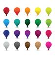 colourful pointers vector image
