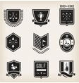 Golf emblems vector | Price: 3 Credits (USD $3)