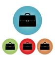 Icon briefcase vector image