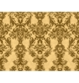 Luxury floral damask wallpaper Seamless pattern vector image vector image