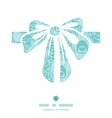 soft peacock feathers gift bow silhouette pattern vector image