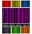 Blinds Fabric Pattern Wallpaper vector image vector image
