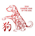 Dog as symbol chinese new year 2018