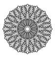 mandala02 vector image vector image