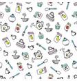 pattern of kitchen utensils design elements