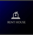 price tag label sale buy rent house apartment vector image
