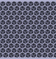 seamless gray cube pattern vector image