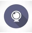 webcam icon vector image