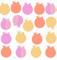 apple fruit fantasy seamless pattern it is vector image vector image