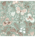 Colorful seamless floral pattern with stylized vector image vector image