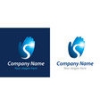 success company logo vector image