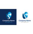 success company logo vector image vector image