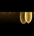 2021 happy new year horizontal banner vector image vector image