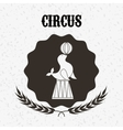 circus entertainment design vector image