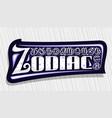 logo for zodiac