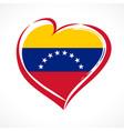 love venezuela emblem colored vector image vector image