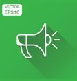 megaphone icon business concept bullhorn symbol vector image vector image
