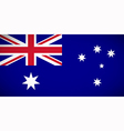 national flag australia vector image vector image