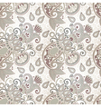 ornate seamless flower paisley design vector image vector image