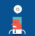 stressed upset sad businessman vector image