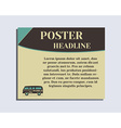 Travel and Camping Poster design Layout template vector image vector image