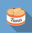 canned tuna vector image
