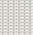 geometric seamless classic pattern with refined vector image vector image