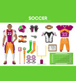 rugby football sport equipment game player garment vector image