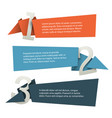 abstract presentation template vector image