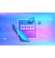 holographic neon background iridescent backdrop vector image vector image