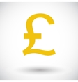 Pound sterling icon vector image vector image
