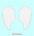 wings it is icons vector image vector image