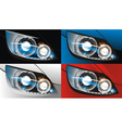 Car headlight vector | Price: 1 Credit (USD $1)