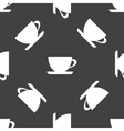 Cup pattern vector image vector image