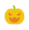jack o lantern halloween related icon flat design vector image vector image