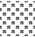 retro phone pattern seamless vector image
