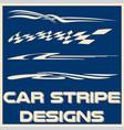 tribal and cool car stripe design set adhesive