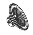 audio loud speaker vector image vector image