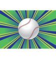 Baseball Ball Background vector image vector image