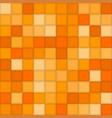 Color orangemosaic tile square background