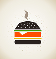 Hamburger3 vector image vector image