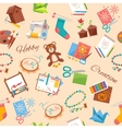 Hobby And Handicraft Pattern vector image