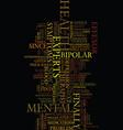 medicines in mental health text background word vector image vector image