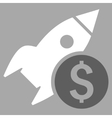 Business Startup Flat Icon vector image vector image