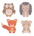 cute animals cute animals vector image vector image