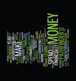 financial vertigo text background word cloud vector image vector image